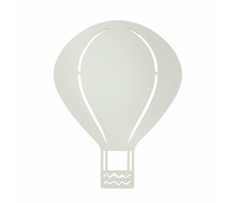 Ferm Living Wandleuchte Luftballon grau Holz 26,5x34,55cm