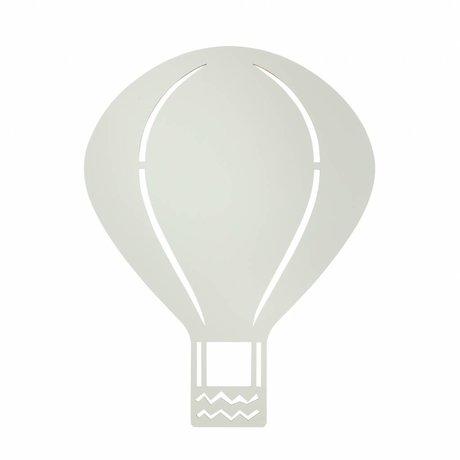 Ferm Living Lámpara de pared de madera de color gris Globo 26,5x34,55cm