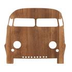 Ferm Living Væglampe bil brun træ 27x22,5cm