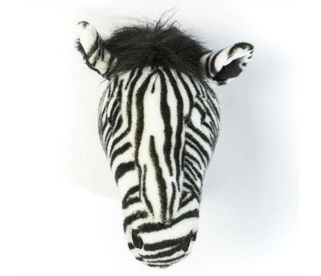 Wild and Soft Tierzebra Daniel monochrome Textil 34x19x30cm