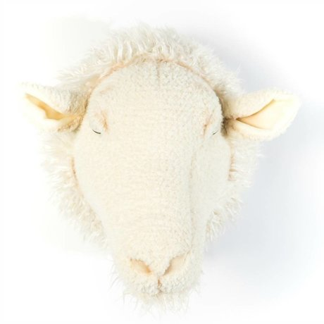 Wild and Soft Animal sheep Harry white textile 29x25x28cm