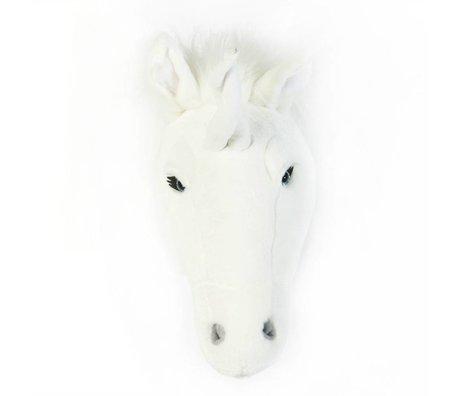 Wild and Soft Tier weißes Einhorn Claire Textil 37x18x35cm