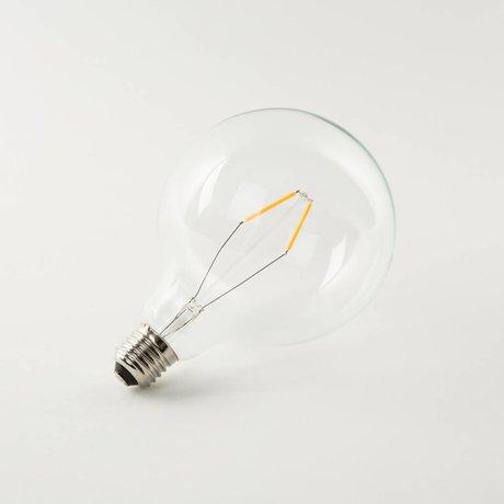 Zuiver Bombilla 13x13x19cm del globo LED
