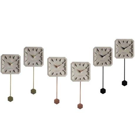 Zuiver Timer ticchettio Mix Set di 6 multicolore 15.5 × 37.5 × 4 cm