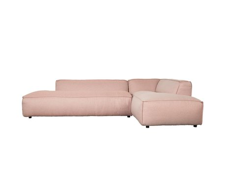 Zuiver Bank Fat Freddy 3 pers Lang Temmelig Pink Plastic 308x103 / 88x72cm