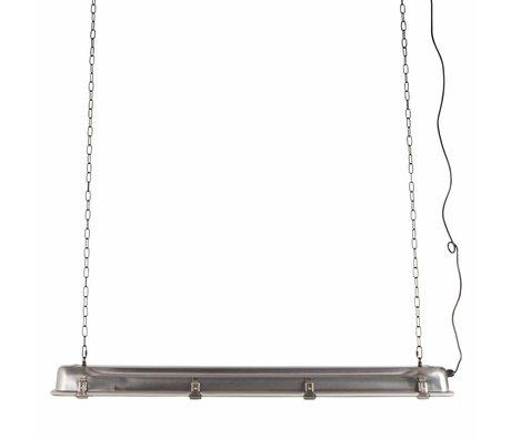 Zuiver Lámpara colgante GTA níquel, gris metalizado 130x14x10cm
