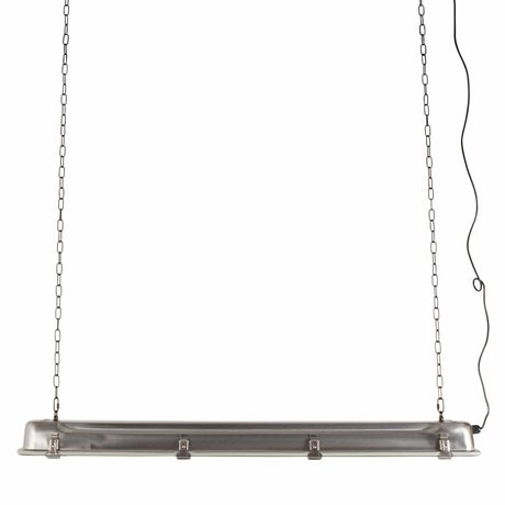 Zuiver GTA pendant light nickel, gray metallic 130x14x10cm