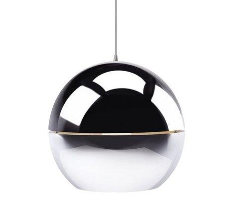"Zuiver Hanging lamp ""Retro 70"" chrome metal Ø40x37cm"