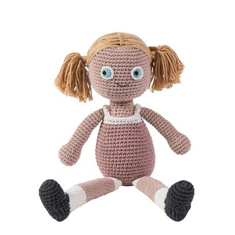 Sebra Bambola 40 centimetri di cotone rosa