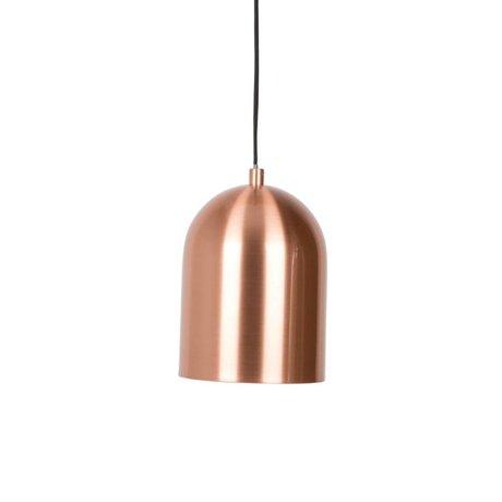 Zuiver Lampada a sospensione Marvel in rame, ferro, rame Ø15x21cm