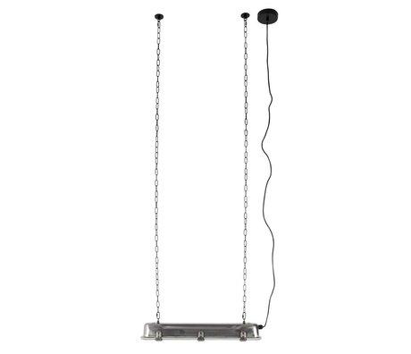 Zuiver GTA lampada a sospensione di nichel, metallo 70x14x10cm grigio