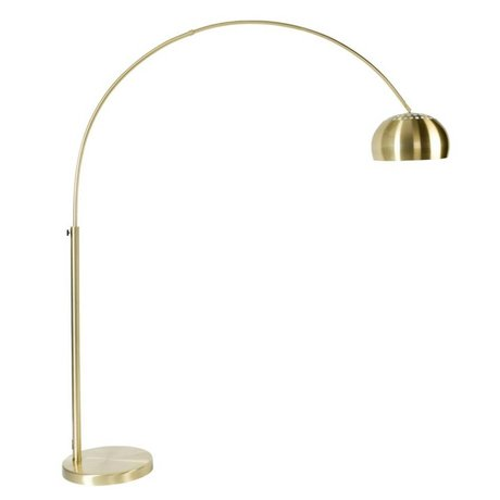 Zuiver Floor Lamp Metal bow brass, gold 190-205cm