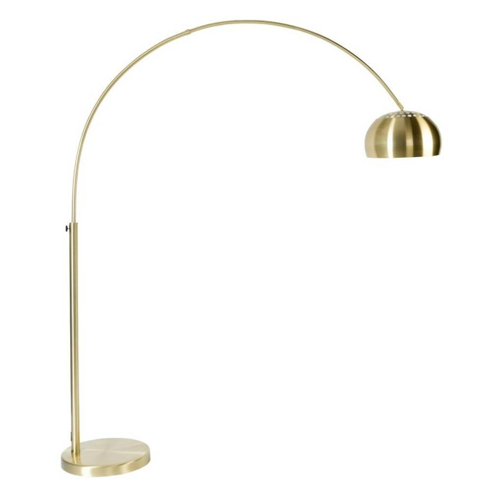 Zuiver Stehlampe Aus Metall Bogen Messing Gold 190 205cm Lefliving De