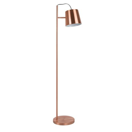 Zuiver Lámpara de pie de la hebilla de cobre de la cabeza, el cobre metálico 150cm