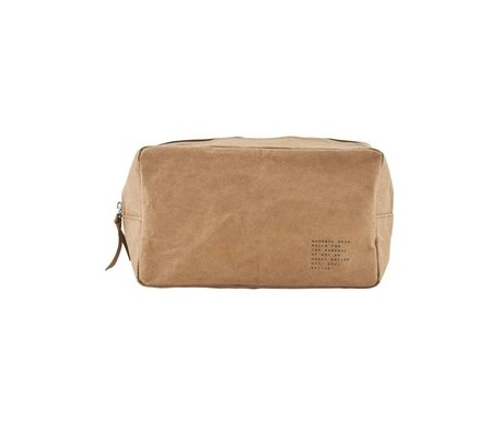 Housedoctor Toiletry Nomadic kraft brun 24x10x14xcm