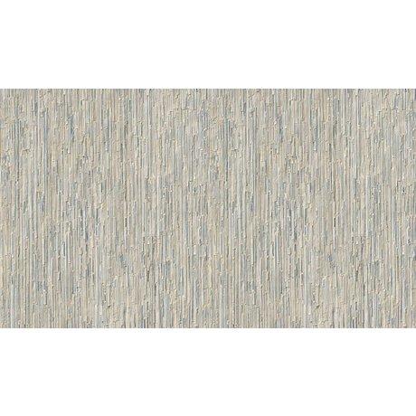 NLXL-Arthur Slenk Tapete 'Remixed 7' aus Papier, creme/blau, 900x48.7cm