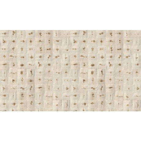 NLXL-Arthur Slenk Wallpaper 'Remixed 6' of paper, cream / brown, 900x48.7cm