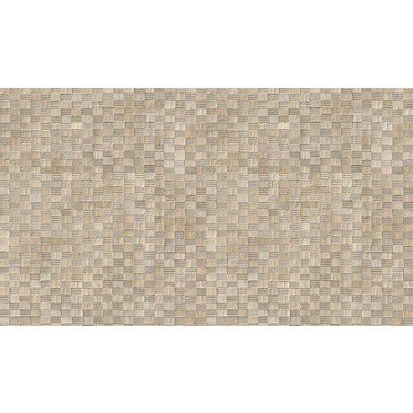 NLXL-Arthur Slenk Sfondi desktop 'Remixed 5' di carta, crema / nero, 900x48.7cm