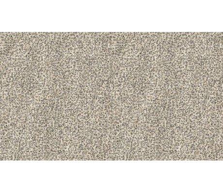 NLXL-Arthur Slenk Wallpaper 'Remixed 4' papir, creme / sort, 900x48.7cm