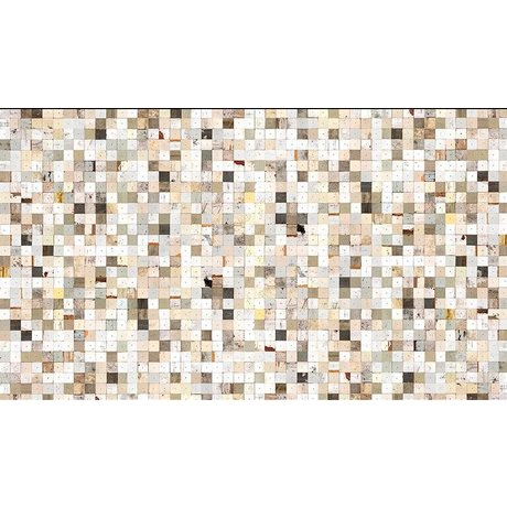 "Piet Hein Eek Papel Wallpaper 'Scrapwood 16 "", blanco / marrón, 900 x 48,7 cm"
