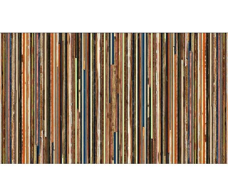 "Piet Hein Eek 'Carta Wallpaper Scrapwood 15 "", multicolor, 900 x 48,7 centimetri"