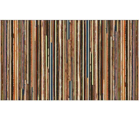 "Piet Hein Eek Tapete 'Scrapwood 15"" aus Papier, multicolor, 900 x 48,7 cm"