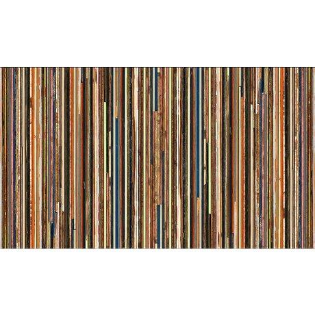 "Piet Hein Eek Fond d'écran ""papier Scrapwood 15"", multicolore, 900 x 48,7 cm"