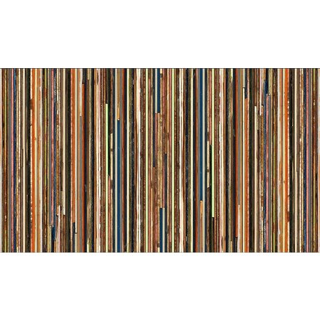 "Piet Hein Eek Wallpaper 'Scrapwood 15 ""paper, multicolor, 900 x 48.7 cm"