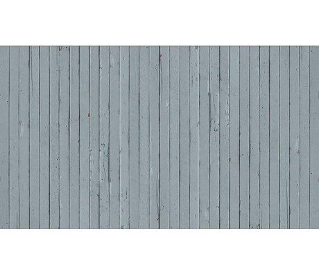 """Piet Hein Eek Papel Wallpaper 'Scrapwood 12 """", gris / azul, 900 x 48,7 cm"""
