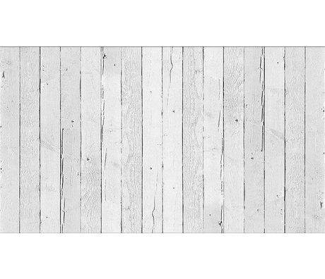 """Piet Hein Eek Scrapwood 11 papier Wallpaper """", blanc, 900 x 48,7 cm"""
