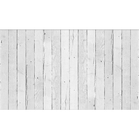 "Piet Hein Eek Wallpaper 'Scrapwood 11 ""paper, white, 900 x 48.7 cm"