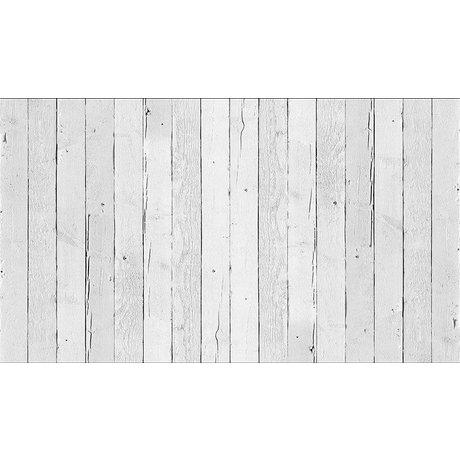 "Piet Hein Eek Wallpaper 'Scrapwood 11 ""papir, hvid, 900 x 48,7 cm"