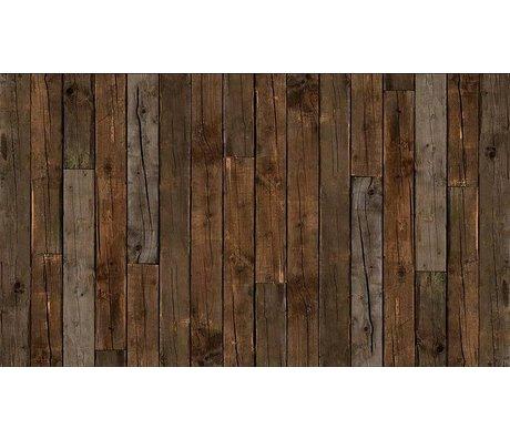 """Piet Hein Eek Papel Wallpaper 'Scrapwood 10 """", marrón, 900 x 48,7 cm"""