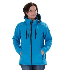 GoodBoy! Damen Softshelljacke LUCY in aqua