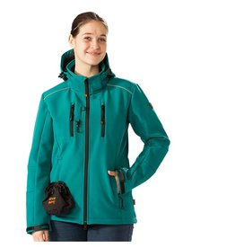 GoodBoy! Damen Softshelljacke LUCY in petrol