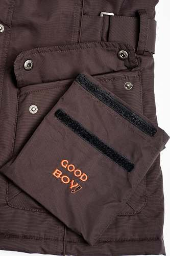 GoodBoy! Damen Winterjacke MELLBY in bordeaux