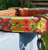 Gypsy Lederhalsband von Dog with a mission® M 2,5 cm