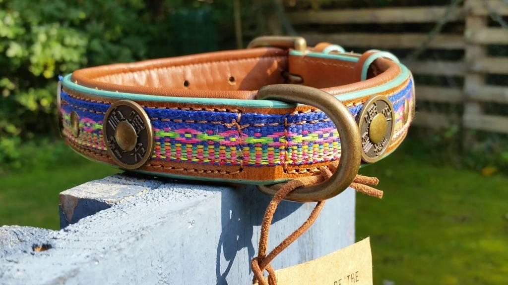 Gypsy Lederhalsband von Dog with a mission® M 2,5 cm