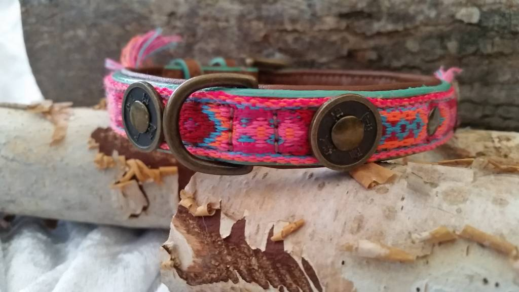 Gypsy Lederhalsband von Dog with a mission® S 2 cm  - Copy