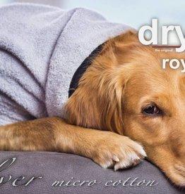 """Dryup Cape ROYAL"""" Trockencape - Hundebademantel aus micro cotton Größe XS"""