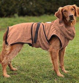 Hundebademantel Chillcoat Premium braun 2 XS