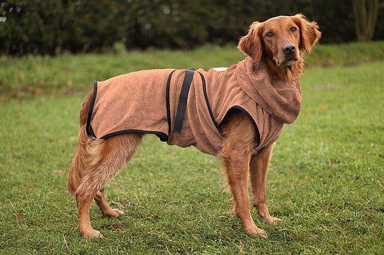 Chillcoat - Superfurdogs Hundebademantel anthrazit - Copy