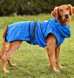 Hundebademantel Chillcoat Premium blau