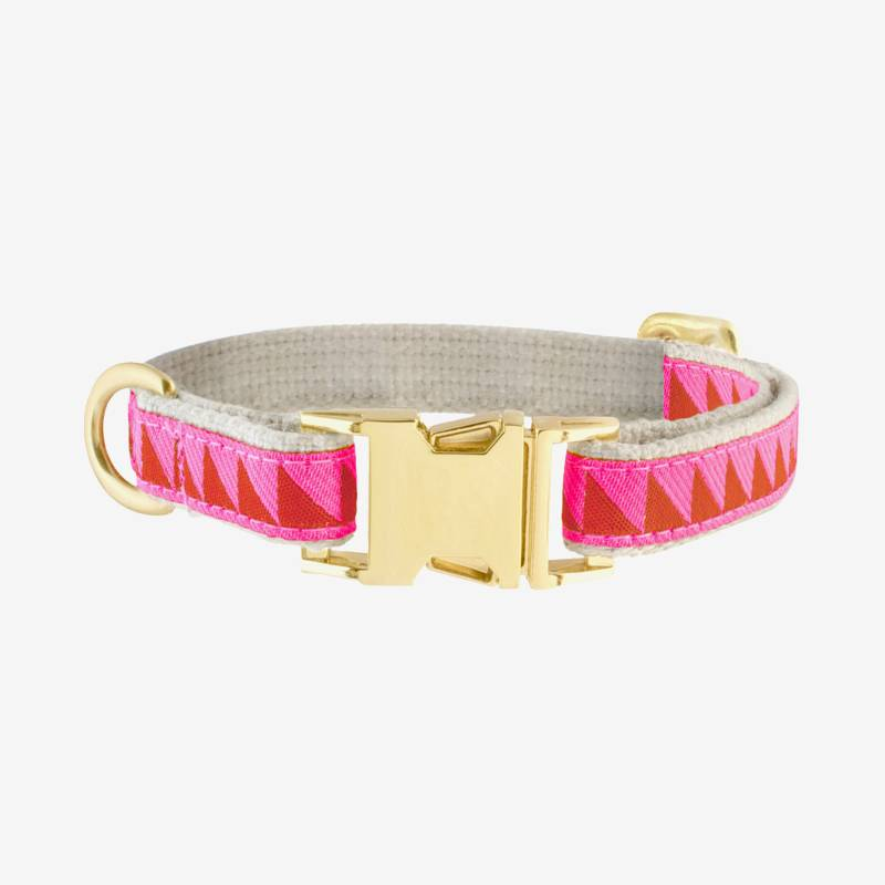 Nice Grill Ruby & Hot Pink Collar