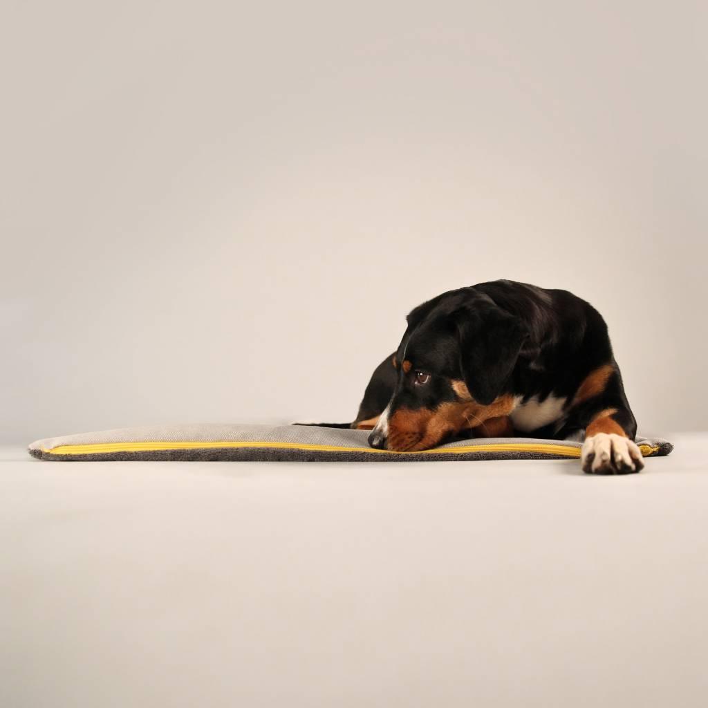 Hundedecke BUDDY.Büggel grau - Reisedecke