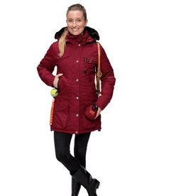 GoodBoy! Damen Winterjacke MARIBO in merlot