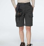 GoodBoy! Damen Funktions-Shorts BIBY in granit