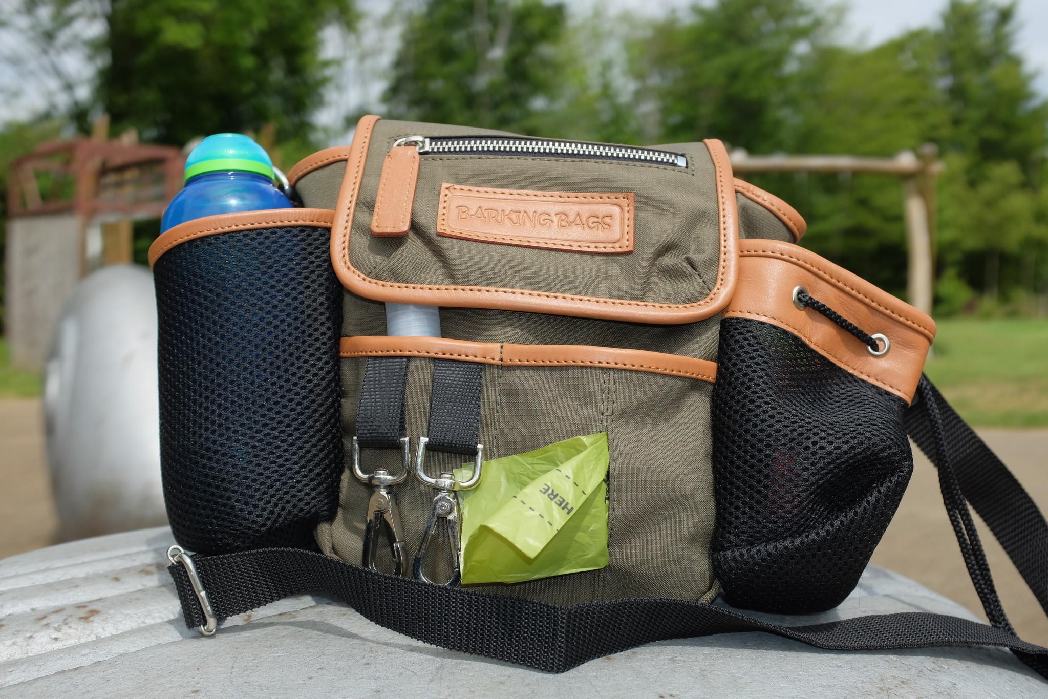 Canvas - Khaki mit ausziehbarer Tasche
