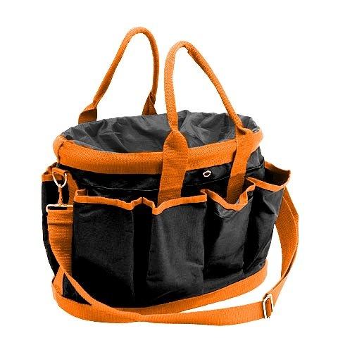 Trainingstasche für Hundehalter schwarz/orange