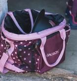 Trainingstasche für Hundehalter pflaume/rosa